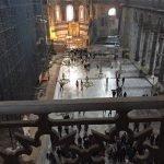 Hagia Sophia interior from the empress's gallery