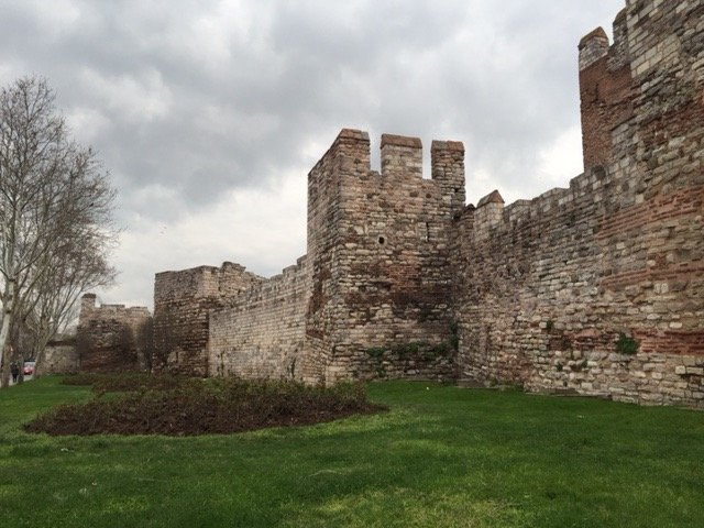 the Theodosian Walls, Constantinople
