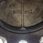 Hagia Irene - mosaic cross in the dome