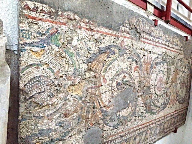 Museum of Great Palace Mosaics - decorative border