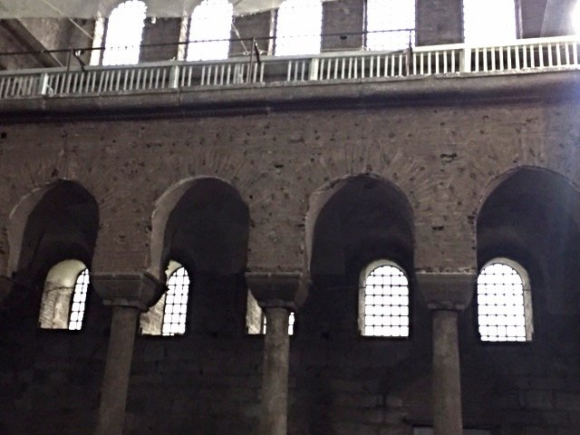Hagia Irene, back of the church and balcony