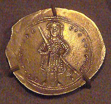 Gold coin of Isaac I Comnenus