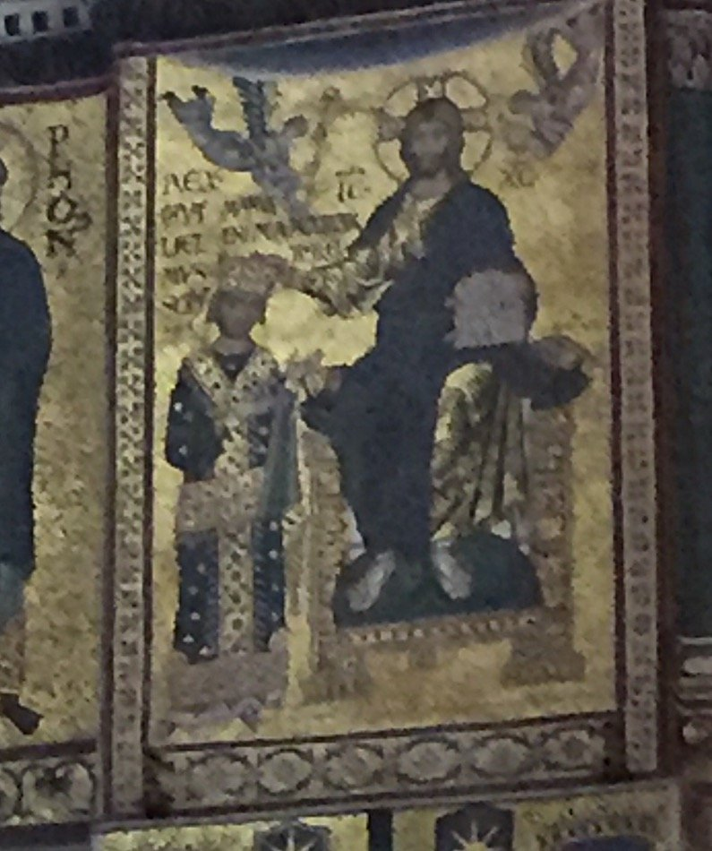 William II at Monreale