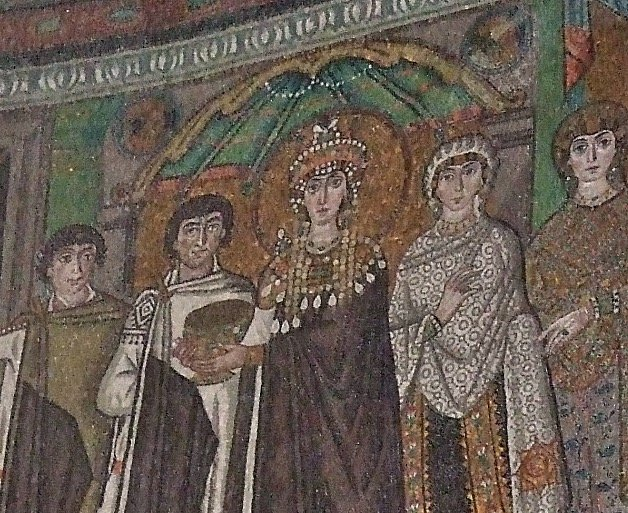 The Empress's Spot in the Hagia Sophia