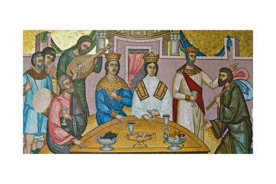 The royal wedding of Alexios I Comnenus and Irene Ducaena
